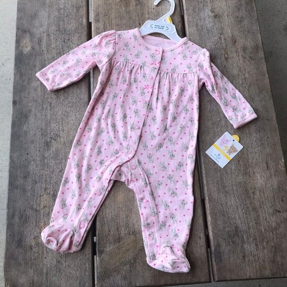 65386bb11 Small Wonders Pajamas   Princess Deer Sleeper Pink Footed   Poshmark